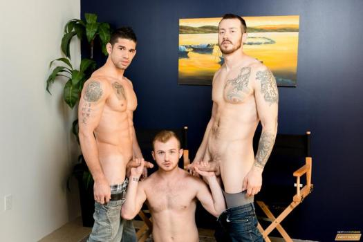NDO – Mark Long, Archer Hart, Jason Richards – Loose Up Audition (Bareback)