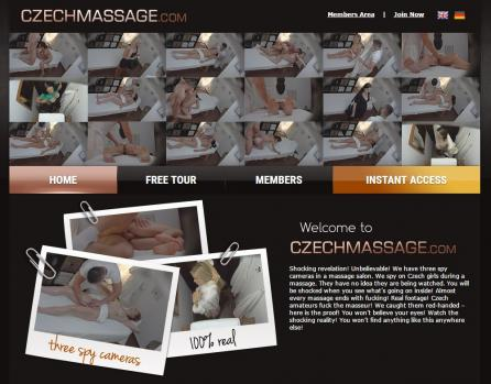 CzechMassage - SiteRip (Updated Feb 2018)