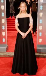 Jennifer Lawrence   71st BAFTAs in 17