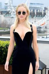 Jennifer Lawrence  Black Dress  Red 21