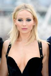 Jennifer Lawrence  Black Dress  Red 23