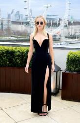 Jennifer Lawrence  Black Dress  Red 24