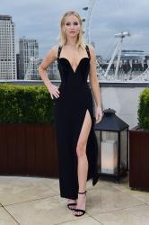 Jennifer Lawrence  Black Dress  Red 29