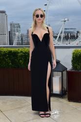 Jennifer Lawrence  Black Dress  Red 33