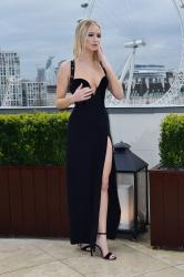 Jennifer Lawrence  Black Dress  Red 37