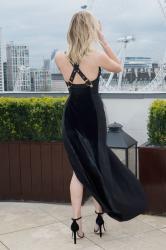 Jennifer Lawrence  Black Dress  Red 51