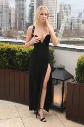 Jennifer Lawrence  Black Dress  Red 62
