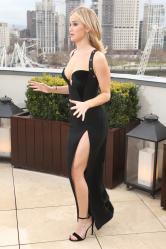 Jennifer Lawrence  Black Dress  Red 63