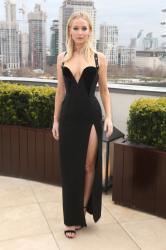 Jennifer Lawrence  Black Dress  Red 69
