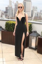 Jennifer Lawrence  Black Dress  Red 71