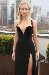 Jennifer Lawrence  Black Dress  Red 73
