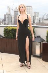 Jennifer Lawrence  Black Dress  Red 94