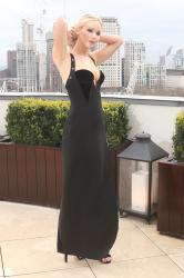Jennifer Lawrence  Black Dress  Red 96