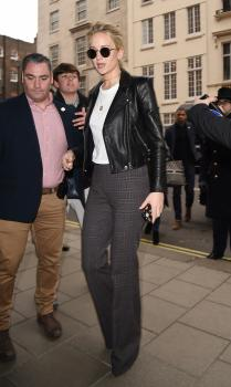 Jennifer Lawrence at her hotel in London 13
