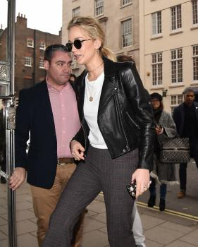 Jennifer Lawrence at her hotel in London 17