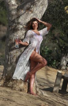 Aurelie Malta  sheer white body suit, 8