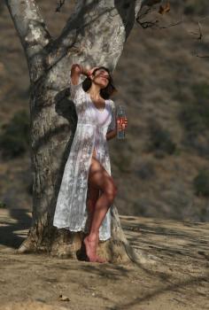 Aurelie Malta  sheer white body suit, 10