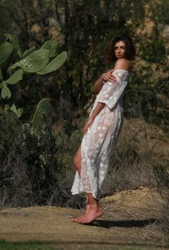 Aurelie Malta  sheer white body suit, 11