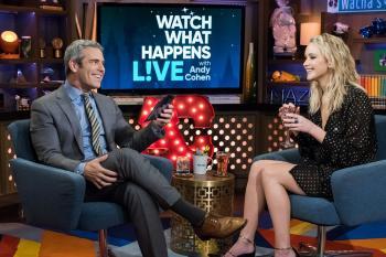 Jennifer Lawrence  'Watch What Happens Live 1