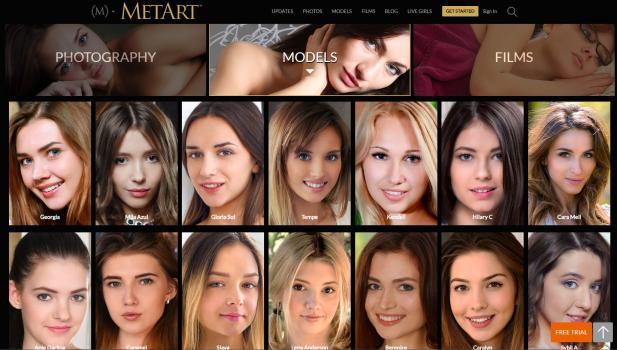 MetArt - SiteRip