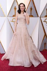 Allison Williams The 90th Annual Academy Awards 8