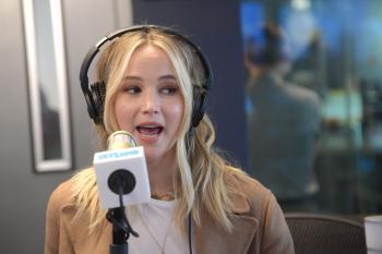 Jennifer Lawrence at Sirius XM Studios in 4