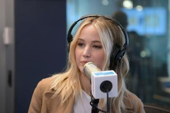 Jennifer Lawrence at Sirius XM Studios in 5