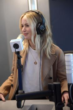 Jennifer Lawrence at Sirius XM Studios in 6
