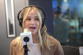 Jennifer Lawrence at Sirius XM Studios in 7