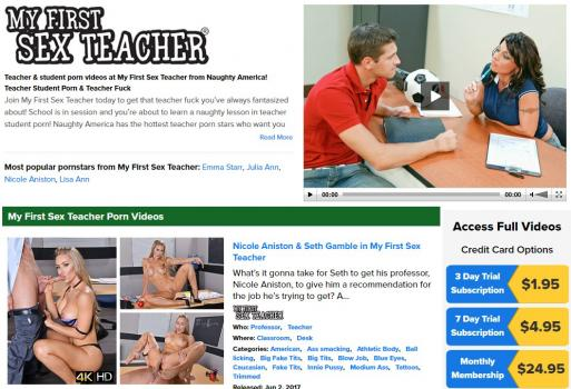 MyFirstSexTeacher - SiteRip (Updated Feb 2018)