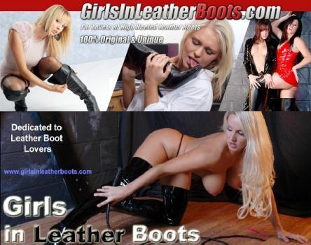 GirlsInLeatherBoots - SiteRip