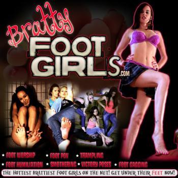 Bratty Foot Girls (C4S) - SiteRip