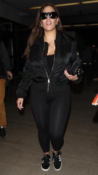 Ashley Graham arrives in LA 3/12/18 2