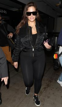 Ashley Graham arrives in LA 3/12/18 6