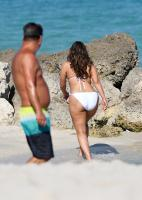 Ashley Graham  Models bikinis on a 19