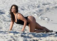 Ashley Graham  Models bikinis on a 118