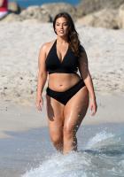 Ashley Graham  Models bikinis on a 131