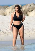 Ashley Graham  Models bikinis on a 133