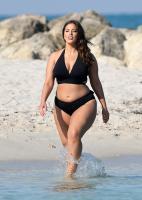 Ashley Graham  Models bikinis on a 134