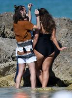 Ashley Graham  Models bikinis on a 142