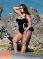 Ashley Graham  Models bikinis on a 145