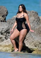 Ashley Graham  Models bikinis on a 148