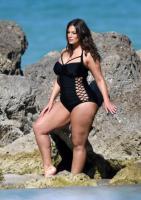 Ashley Graham  Models bikinis on a 149