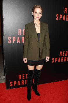 Jennifer Lawrence  'Red Sparrow' Screening in 3