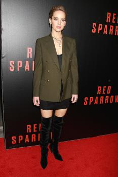 Jennifer Lawrence  'Red Sparrow' Screening in 4