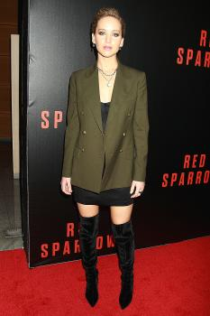 Jennifer Lawrence  'Red Sparrow' Screening in 5