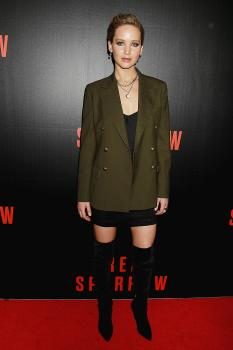 Jennifer Lawrence  'Red Sparrow' Screening in 7