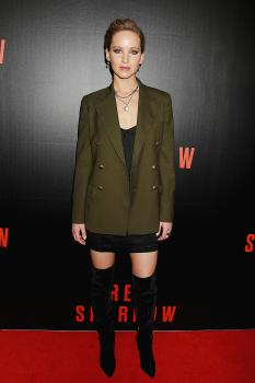 Jennifer Lawrence  'Red Sparrow' Screening in 8