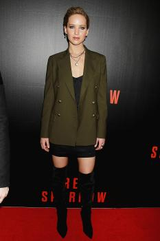 Jennifer Lawrence  'Red Sparrow' Screening in 9