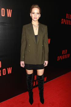 Jennifer Lawrence  'Red Sparrow' Screening in 23